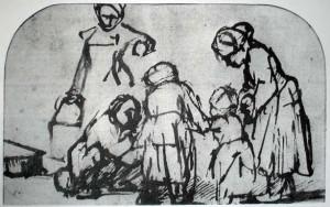 Main rembrandt Sketch