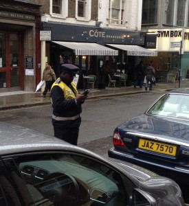 London parking Ticket