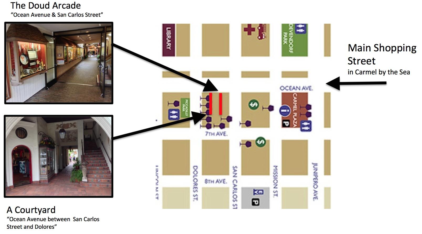 Carmel Map PIcs